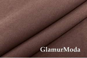 Костюмная ткань Гальяно, цвет шоколад