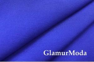 Костюмная ткань гальяно, цвет насыщенный синий