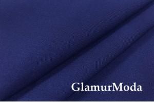 Костюмная ткань гальяно, темно-синего цвета
