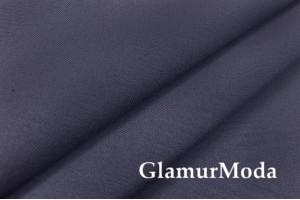 Костюмная ткань Гальяно, цвет серый с голубым отливом