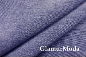Костюмная ткань гальяно, цвет синий