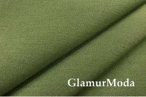 Костюмная ткань гальяно, цвет хаки