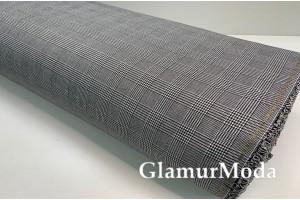 Ткань костюмная клетка в Гусиную лапку, арт. 5007, Турция
