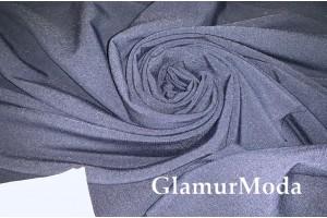 Ткань костюмная Тиар тёмно-синего цвета
