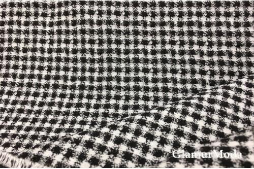 Жаккард костюмный квадраты, д5