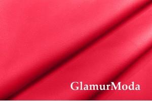Искусственная кожа (экокожа) красного цвета