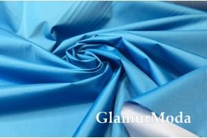 Плащевая ткань Дюспо синего цвета