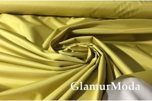 Плащевая ткань Дюспо золотого цвета