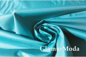 Плащевая ткань Дюспо бирюзово-голубого цвета