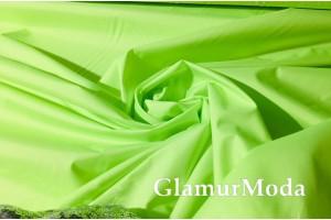 Плащевая ткань Дюспо салатового цвета