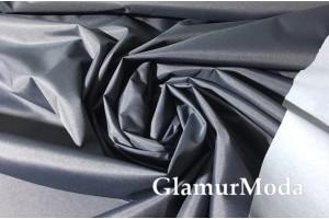 Плащевая ткань Дюспо тёмно-серого цвета