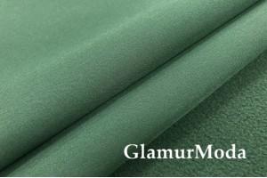 Курточная ткань Софтшелл с мембраной, цвета авокадо, арт. 59811
