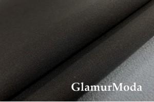 Курточная ткань Софтшелл с мембраной, черного/серого цвета, арт. 59817