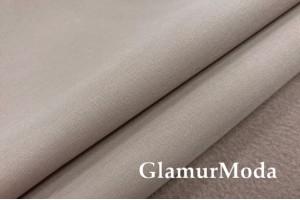 Курточная ткань Софтшелл с мембраной, бежевого цвета, арт. 59820