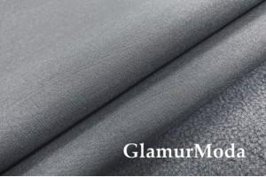 Курточная ткань Софтшелл с мембраной, тёмно-серого цвета, арт. 59817
