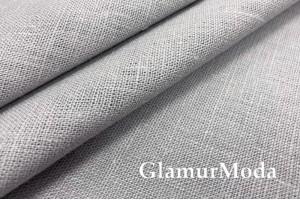 Лен костюмный 09C52, серый цвет