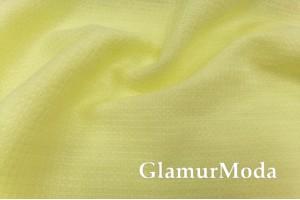 Лен полотенечный желтого цвета (17С385)