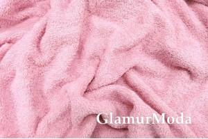 Махра нежно-розового цвета