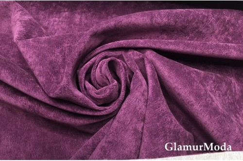 Велюр для мебели светло-фиолетового цвета В29