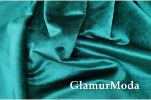 Мебельный бархат изумрудного цвета