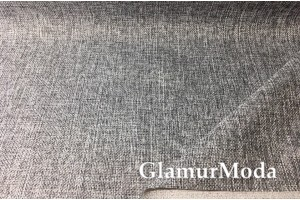 Мебельная рогожка серого цвета MS26 1B