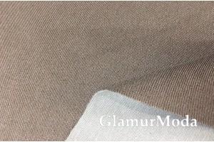 Микровелюр для мебели бежево-коричневого цвета