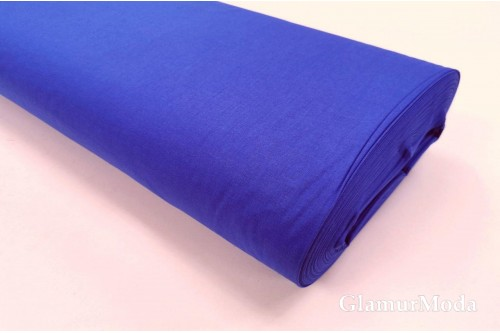 Акфил 240 см однотонный N81 синего цвета