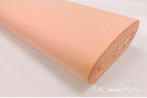 Акфил 240 см однотонный персикового цвета N25