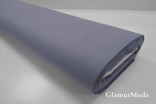 Акфил 240 см однотонный N56 серо-синего цвета