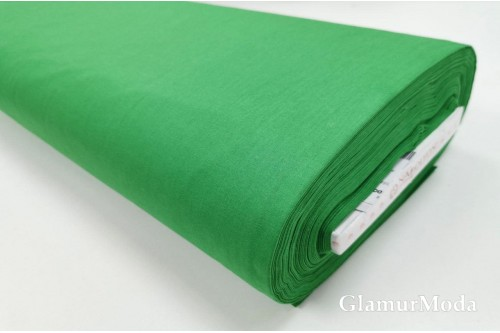 Акфил 240 см однотонный N86 зелёного цвета