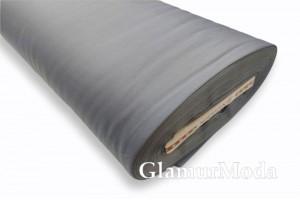 Сатин мерсеризованный 240 см, N49 серо-голубого цвета