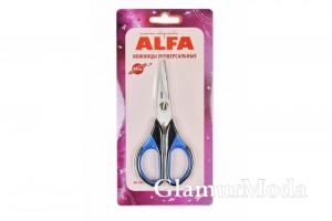 Ножницы универсальные, ALFA, 14 см, арт. AF-2855