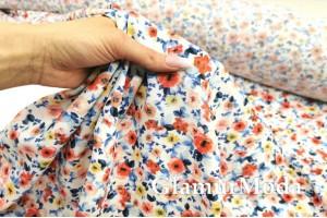 Мосс креп TORINO, цветочная феерия PN3005