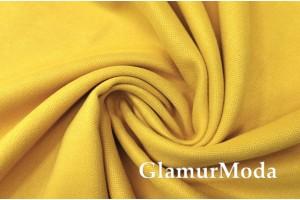 Портьерный Канвас жёлтого цвета, 300 см