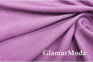 Портьерный Канвас тёмно-розового цвета V127, 300 см