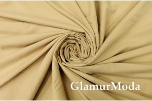 Подкладочная ткань для штор бежево-золотого цвета 300 см, Турция