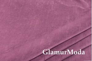 Портьерная Замша 300 см, тёмно-лилового цвета, арт. 27143, Турция