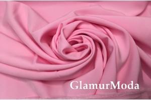Костюмная ткань Пикачу розового цвета