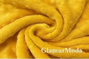 Плюш минки цвет желтый, 165 см, Турция