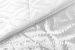 Подкладка дублированная синтепоном белого цвета