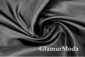 Ткань подкладочная черного цвета, Италия