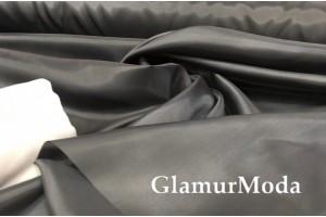 Ткань подкладочная нейлон, цвет серый графит