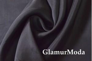 Ткань подкладочная нейлон, чёрный цвет