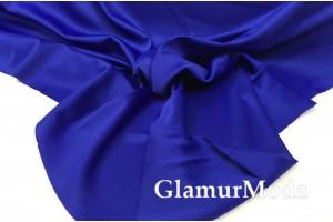 Подкладочная трикотажная ткань василькового цвета