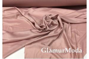 Подкладочная трикотажная ткань цвета темная пудра