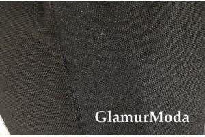 Подкладочная трикотажная ткань черного цвета