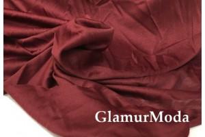 Подкладочная трикотажная ткань цвета марсала