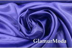 Подкладка с вискозой темно-василькового цвета