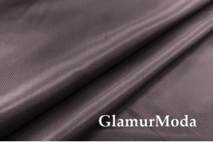 Подкладка с вискозой цвета горького шоколада