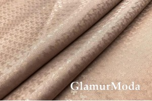 Подкладочная ткань с вискозой бежевого цвета